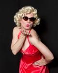 J Evarts as Marilyn Monroe. Photo by Eric Waters.
