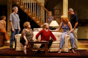 Dorothy Lyman with cast of August, Osage County. HSN | TR.
