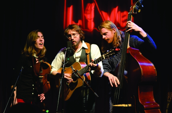 American troubadours, The Stray Birds, will play May 4 in the Paris of the Piedmont.