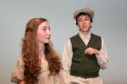 Samantha Rahn and Ishai Buchbinder in THE CRIPPLE OF INISHMAAN. Photo: DDT.