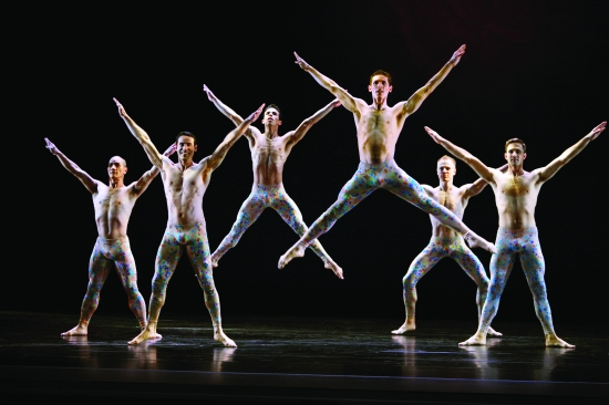 Paul Taylor Dance Company in the joyous Arden Court. Photo: Paul B. Goode.