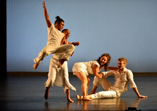 ADF students in Bill T. Jones' Love Re-defined, in the FORCES OF DANCE program. Photo: ©Grant Halverson/ADF.