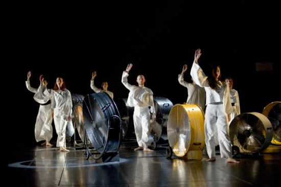 The Trisha Brown Dance Company. Photo: Laurent Philippe.