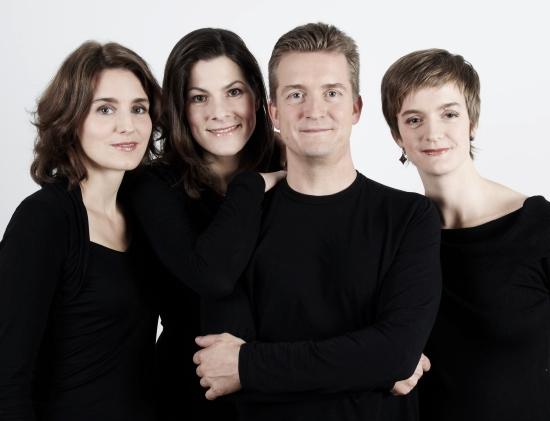 Tetzlaff Quartet, 2010 Photo: © Alexandra Vosding, courtesy Duke Perfmormances.