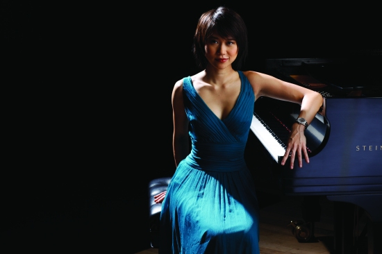 Pianist Yuja Wang. Credit: Rolex, Fadil Berisha.