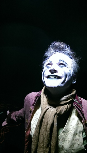 John Jimerson as Salieri in Leviathan's production of AMADEUS. Photo: Jaybird O'Berski.