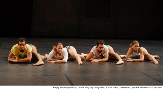 Ballet Preljocaj. Photo:©JC Carbonne.