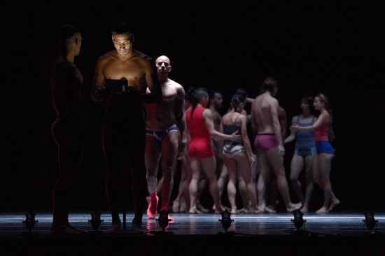 Emmanuel Gat's Ida? premiered 7/5/14 at the American Dance Festival. Photo: Grant Halverson ©ADF.