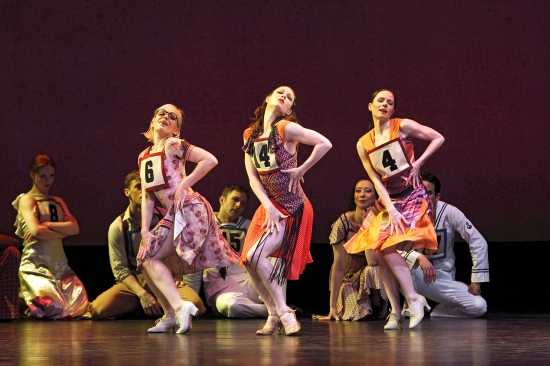 The Paul Taylor Dance Company in Marathon Cadenzas. Photo: Paul B. Goode.