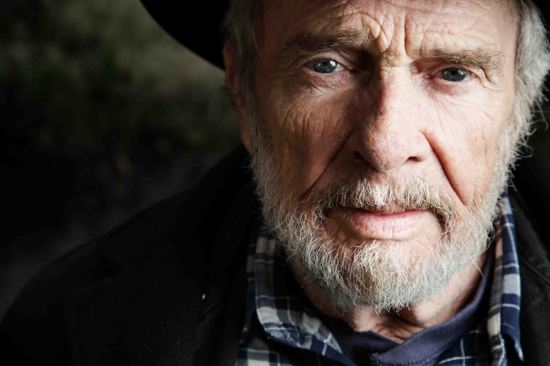 Merle Haggard. At 77, the highway's still his home. Photo: Myriam Santos.