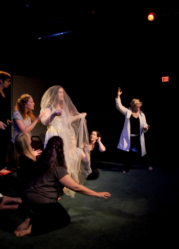 The Summer Sisters in MONSTER CAMP at Common Ground Theatre. Photo: Jenn Evans.