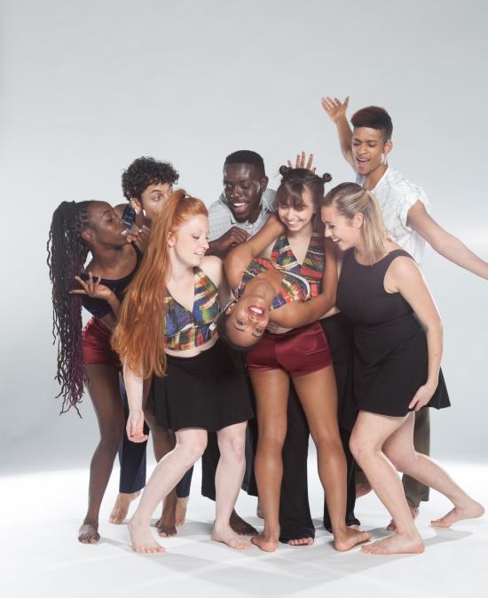 The Gaspard & Dancers company premiered L'Esprit in Durham, NC.  Photo: Robin Gallant.