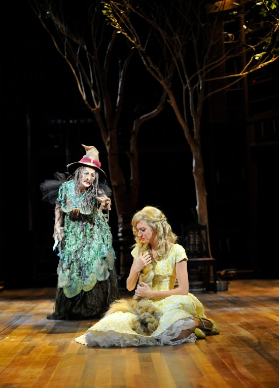 Lisa Brescia and Carey Cox as The Witch and her daughter Rapunzel. Photo: Jon Gardiner.