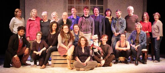 Most of the REDBIRD gang. Photo courtesy the ArtsCenter.