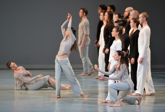 Shen Wei's Untitled No. 12-2, in performance at ADF June 11, 2015. Photo: Grant Halverson.