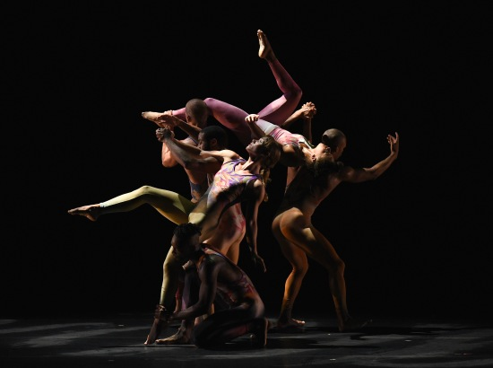 Pilobolus dancing Sweet Purgatory at ADF, 6-18-15.  Photo: Grant Halverson.