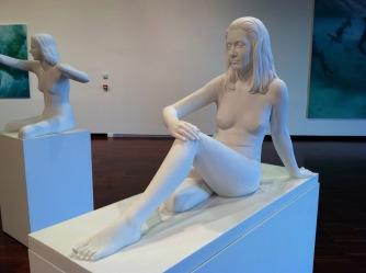 Marc Quinn sculptures in exhibition, Fondazione Giorgio Cini, Venezia, 2013. Photo: Coke Ariail.