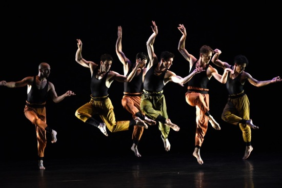Paul Taylor Dance Company floating in Syzygy at ADF 7/2/15. Photo: Grant Halverson.