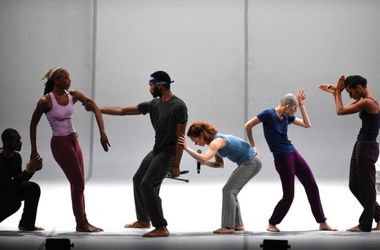 The Bill T. Jones/Arnie Zane Dance Company in Analogy/Dora: Tramontane at ADF, 7/10/15. Photo: Grant Halverson.