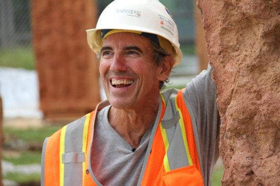 1 a THOMAS SAYRE Happy to finish earthcasting in Baltimore.JPG