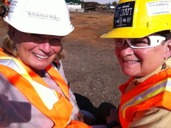 9 Producers Donna Campbell and Georgann Eubanks passed safety training.jpg